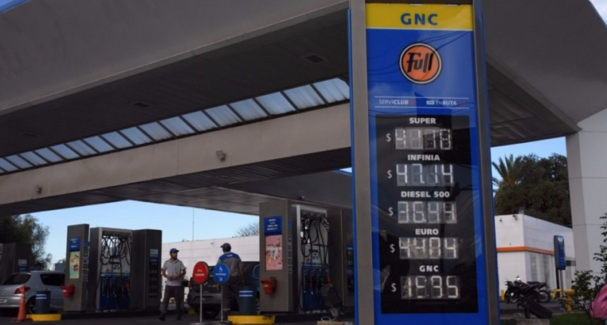 YPF aumentó sus precios y la nafta ya llega a $54 en el norte