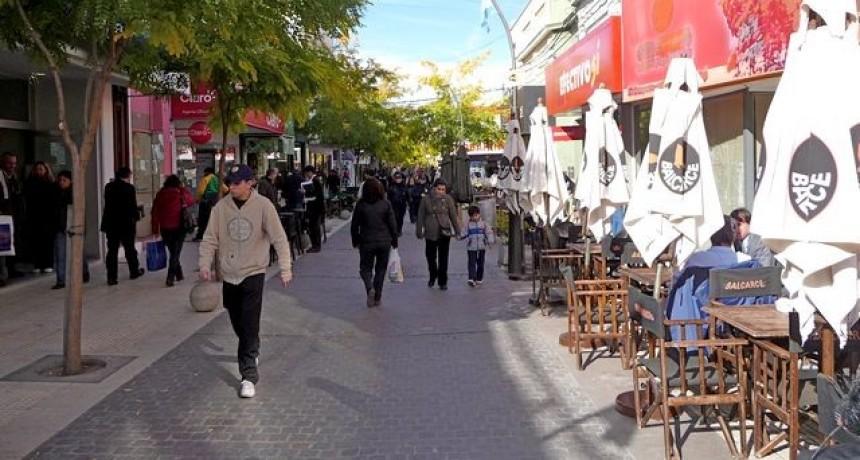 Ventas paralizadas en los comercios de San Luis