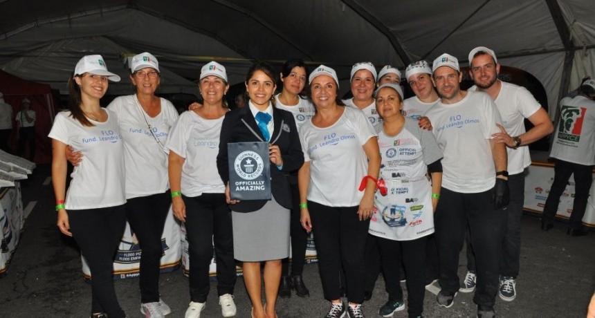 Pizzeros argentinos batieron dos récords guinness