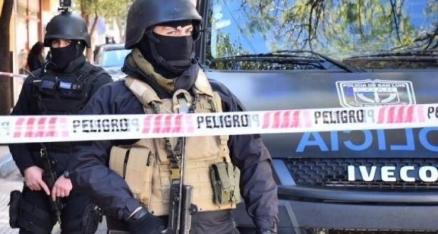 Un detenido en allanamientos contra el narcotráfico