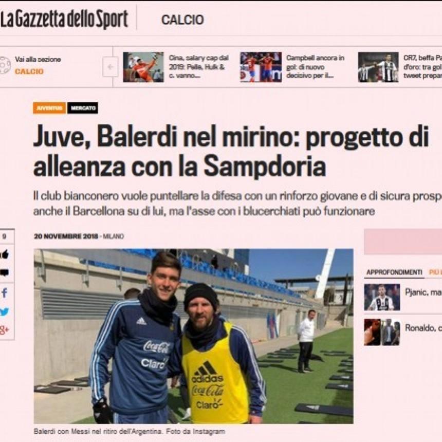 La Juventus pone los ojos en Balerdi