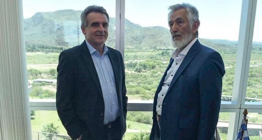 El diputado nacional Agustín Rossi visita la provincia y se reunió con Alberto Rodríguez Saá
