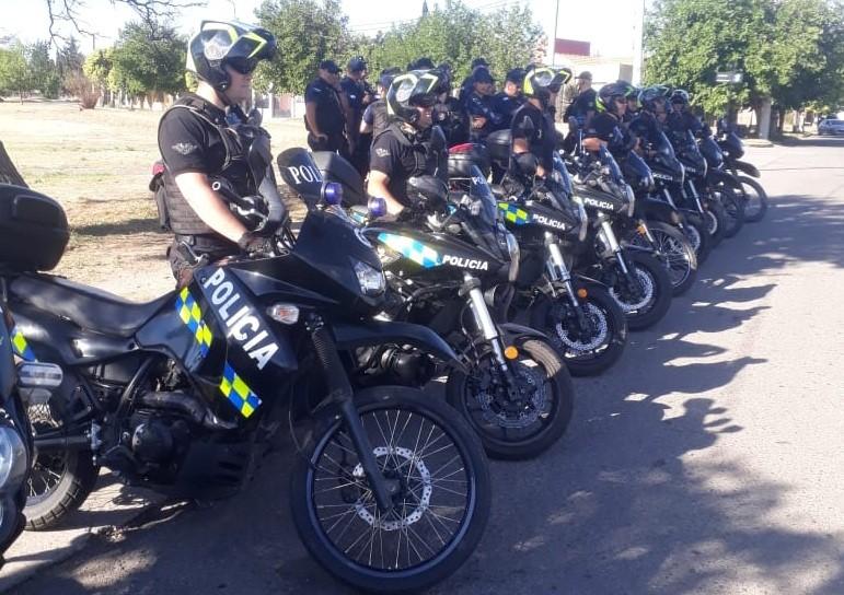 San Luis: 14 motos y 6 autos secuestrados en un nuevo operativo de prevención