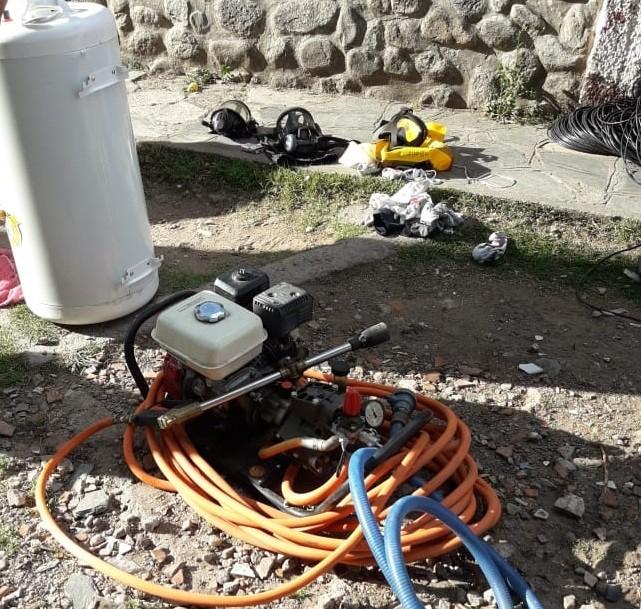 Potrero de los Funes: detuvieron a dos hombres que robaron elementos a los Bomberos Voluntarios y a un vecino