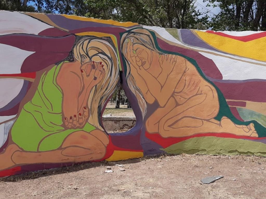 El Parque IV Centenario crece a todo color y con muchas obras