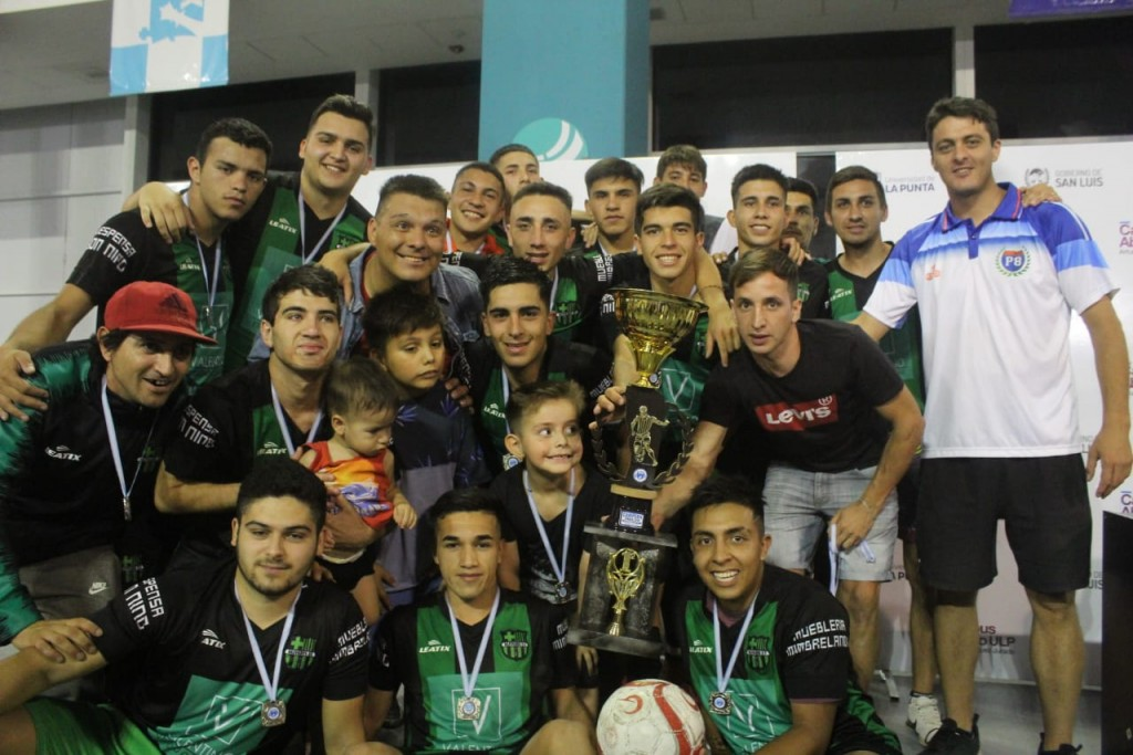 Olivares se consagró campeón de la Sub19 de Futsal
