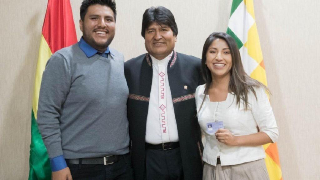 Los hijos de Evo Morales recibirán asilo en la Argentina