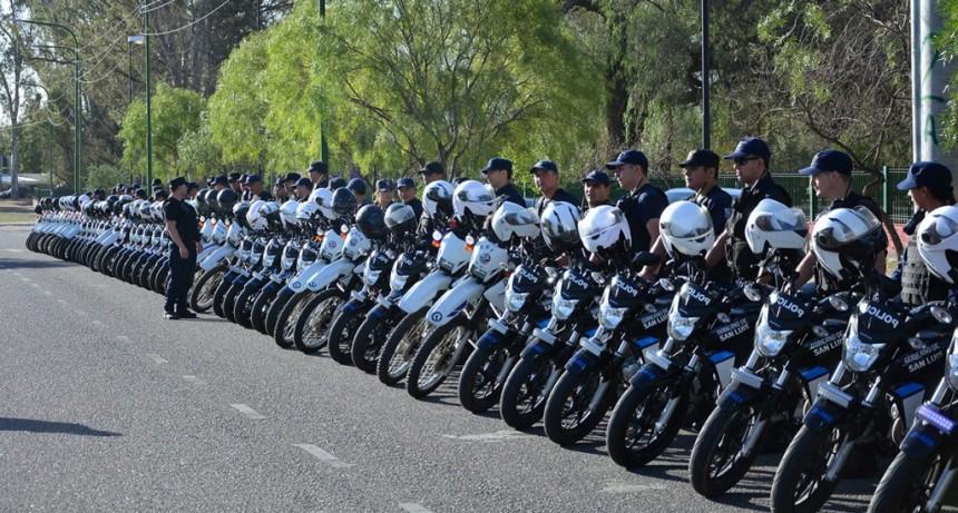 San Luis: La Policía realizó un nuevo operativo de prevención