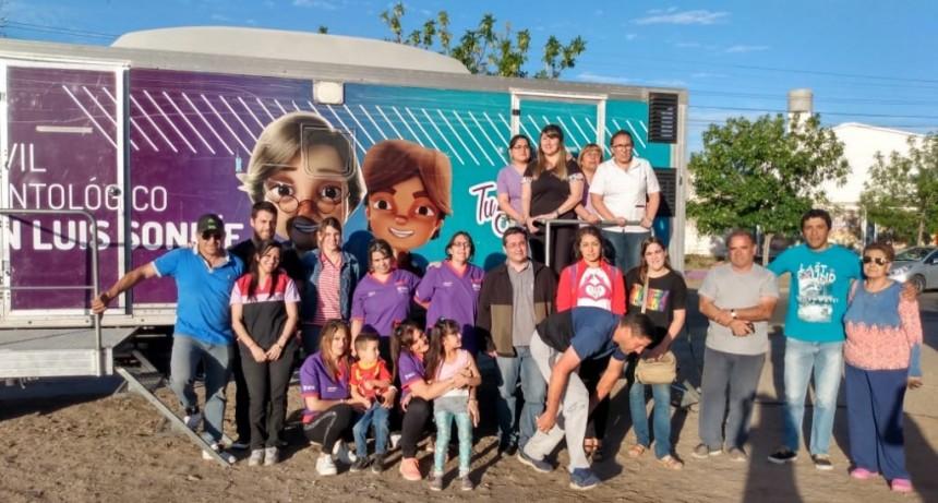 Este sábado, Salud llegó a tres barrios de la ciudad de San Luis