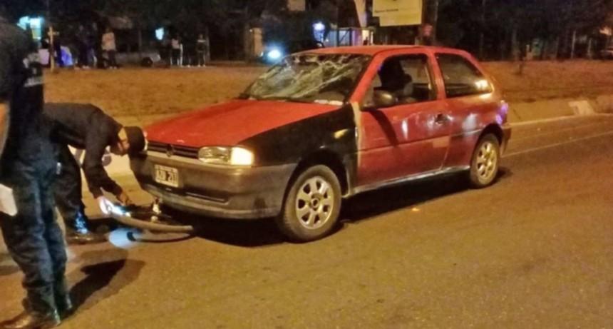 Accidente fatal: un ciclista falleció tras ser embestido por un auto