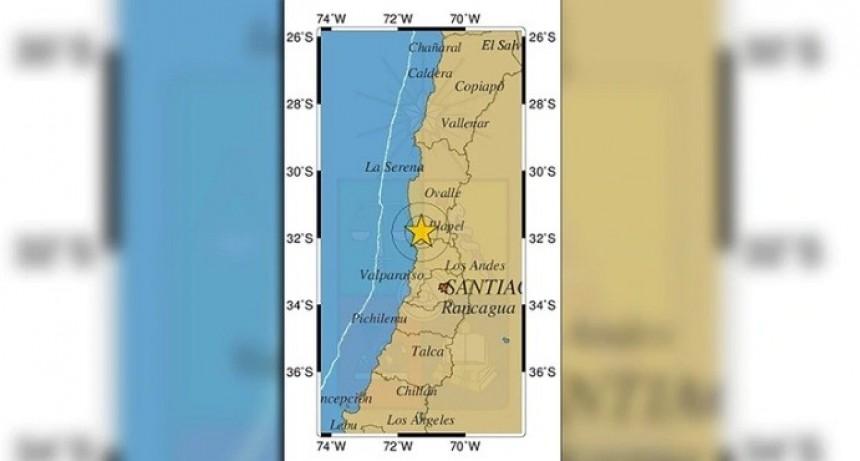 Un sismo de magnitud 6,3 sacudió el centro de Chile y se sintió fuerte en San Juan y Mendoza