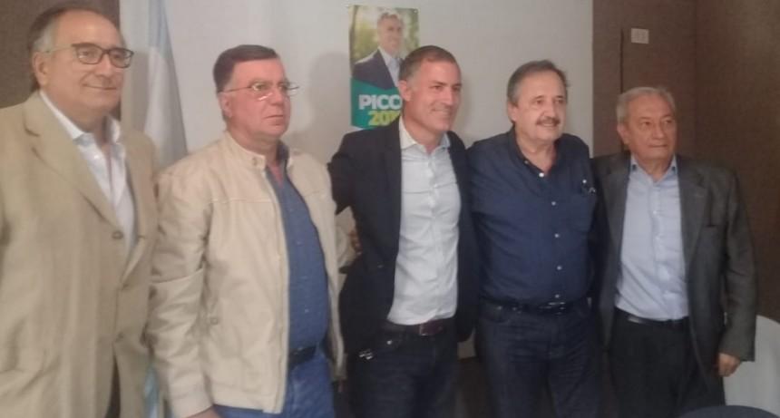Ricardo Alfonsín visitó San Luis para apoyar la candidatura a intendente de Enrique Picco