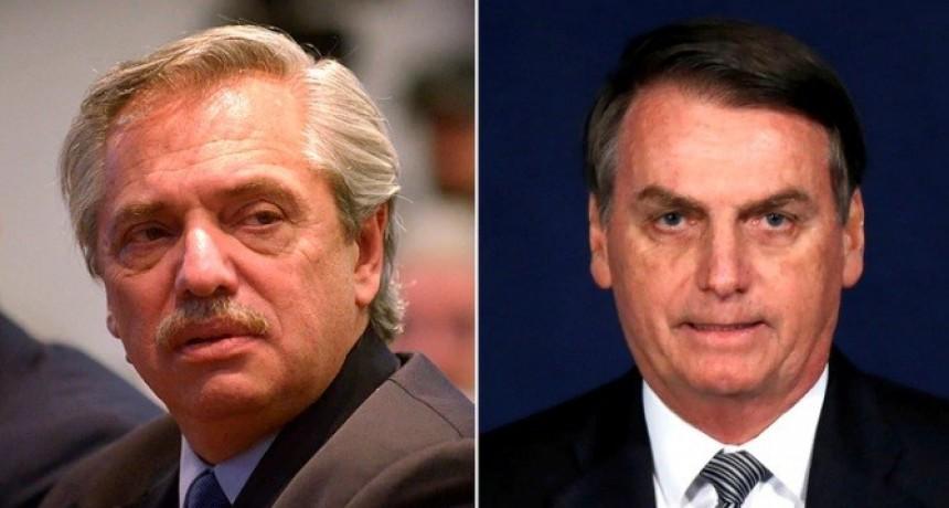 En el marco de la tensión con Brasil, Bolsonaro enviará a su vicepresidente a la asunción de Alberto Fernández