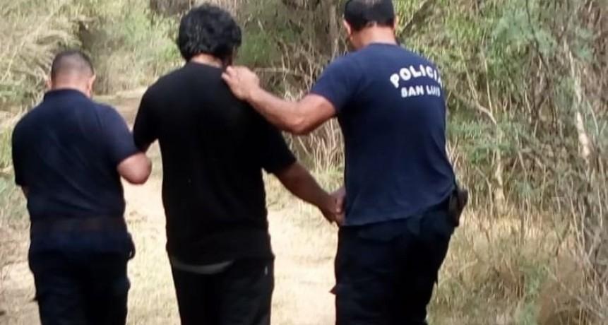Santa Rosa: la Policía encontró sano y salvo a un hombre que padece de esquizofrenia y estuvo perdido 17 horas