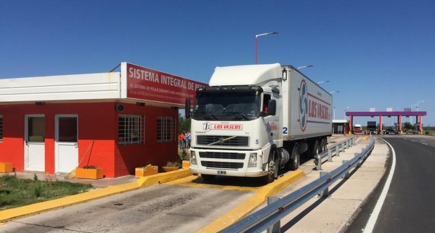 El Gobierno provincial habilitó una nueva balanza por eje en Desaguadero
