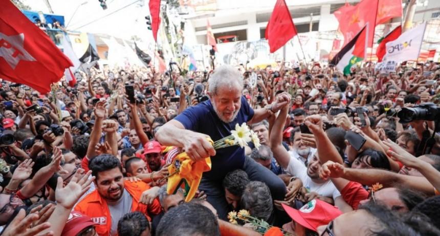 La Justicia autorizó la liberación de Lula: podría salir de la prisión en las próximas horas