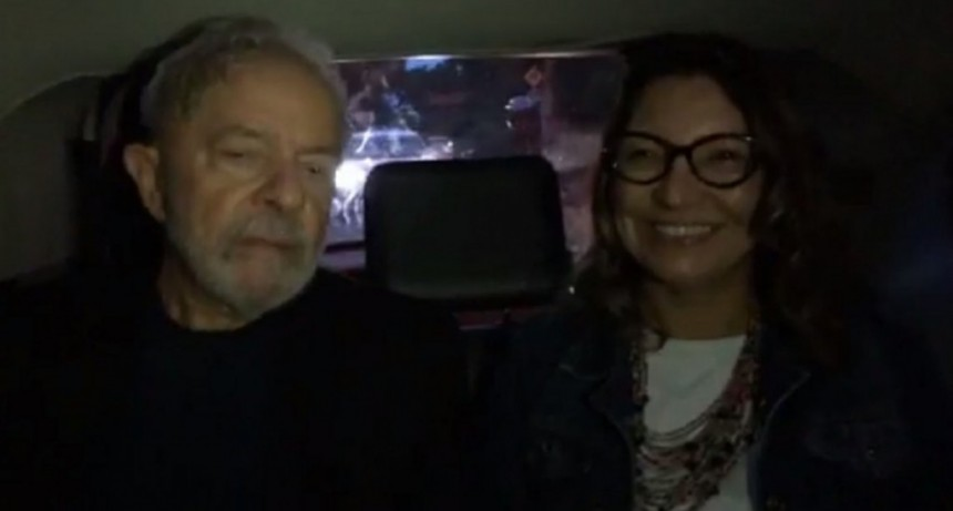 VIDEO: el Facebook Live de Lula tras ser liberado