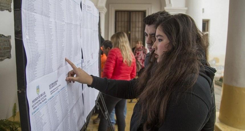 El domingo se votará en más de 50 establecimientos educativos de la ciudad de San Luis