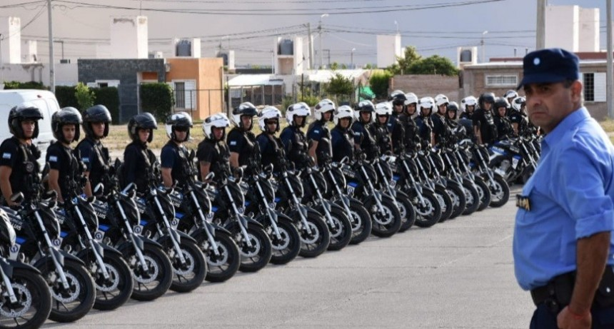 San Luis: 105 efectivos y 81 móviles en operativos preventivos desplegados en el sur de la ciudad