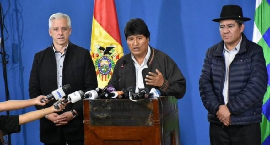Tras el pedido de la OEA, Evo anunció nuevas elecciones: