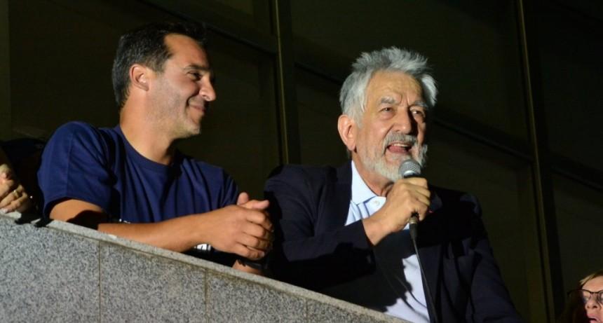 """Alberto Rodríguez Saá: """"Ganamos la de gobernador, la de presidente y la de intendente, ganamos la triple corona"""""""