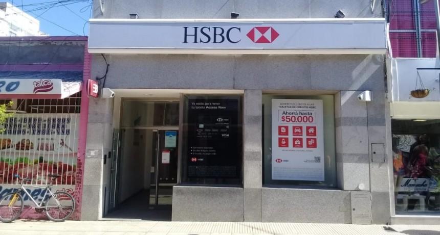 HSBC cierra sus sucursales en San Luis y Villa Mercedes