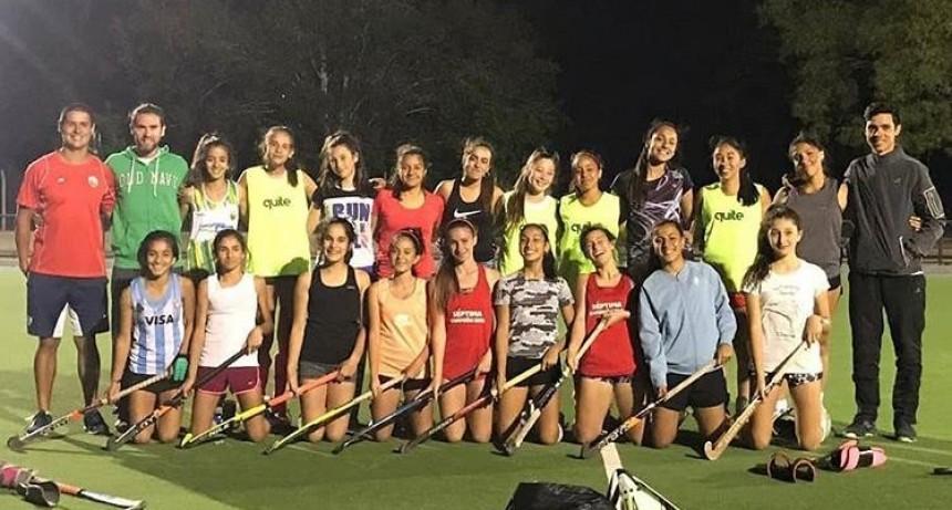 La Sub14 de la Federación Sanluiseña de Hockey lista para partir rumbo a Córdoba