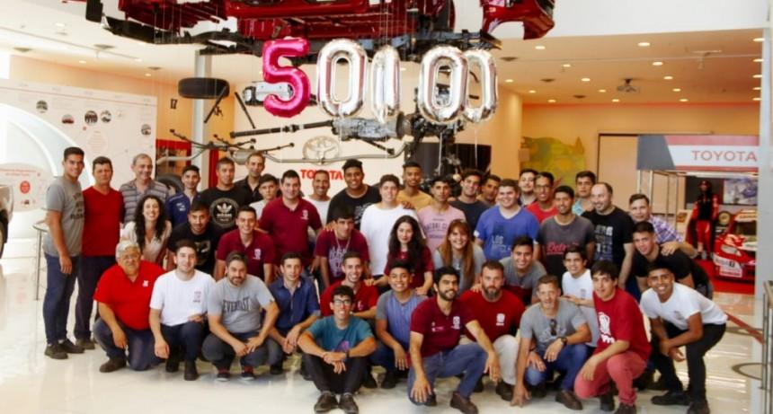 Alumnos de la UPrO visitaron la planta de Toyota en Zárate