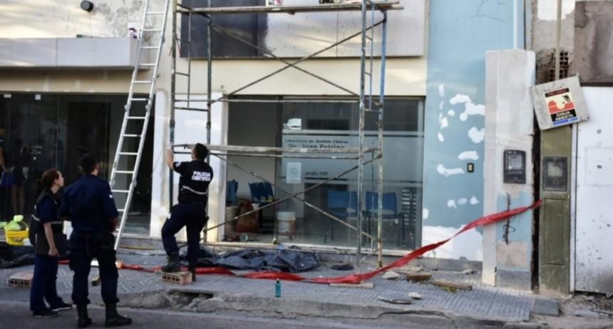 San Luis: un operario falleció tras de caerse de un andamio