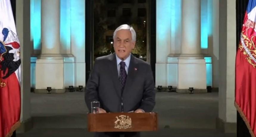 Piñera prometió justicia por las violaciones a los derechos humanos, pero advirtió contra las protestas