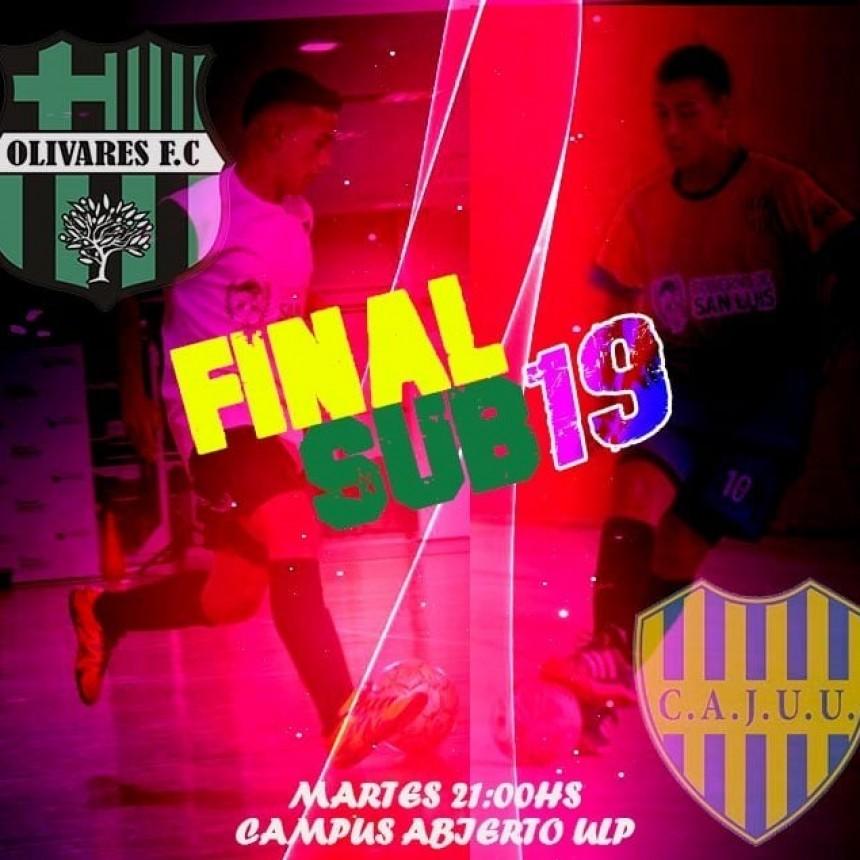 Futsal: Esta noche se define al campeón de la Sub19