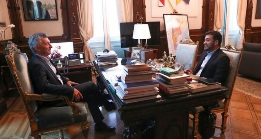 Macri y Cacace se reunieron en Casa Rosada