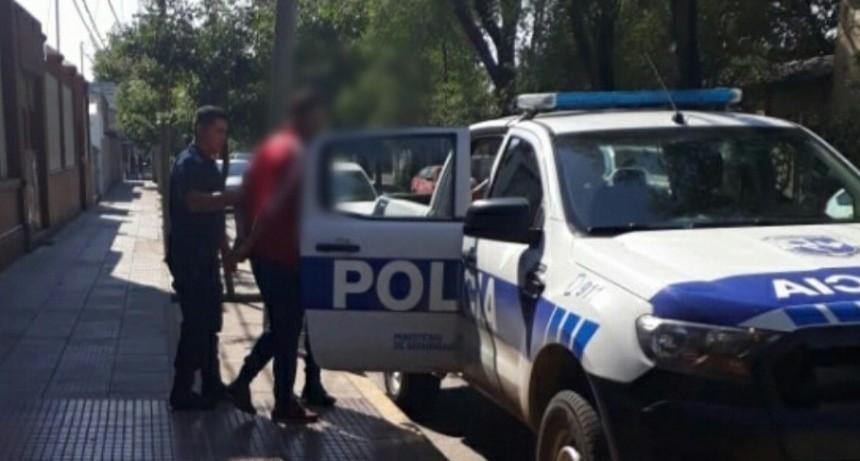 Villa Mercedes: enviaron al servicio penitenciario a un hombre que amenazó con un revólver calibre 32 a su ex pareja