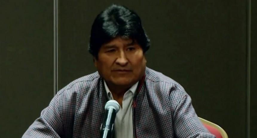 Evo Morales anunció la creación de una Comisión de la Verdad