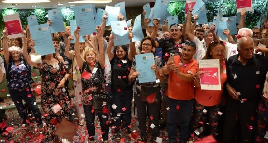El Gobierno de San Luis entregó 110 escrituras