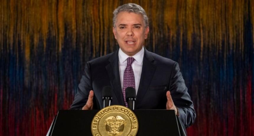 Tensión en Colombia: el presidente Iván Duque anunció el toque de queda para Bogotá