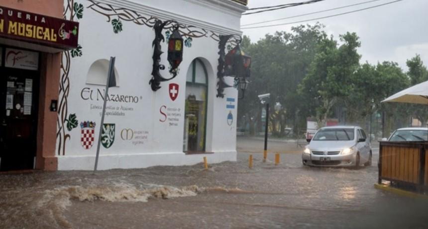 En Merlo se registraron las mayores lluvias: cayeron 98 mm