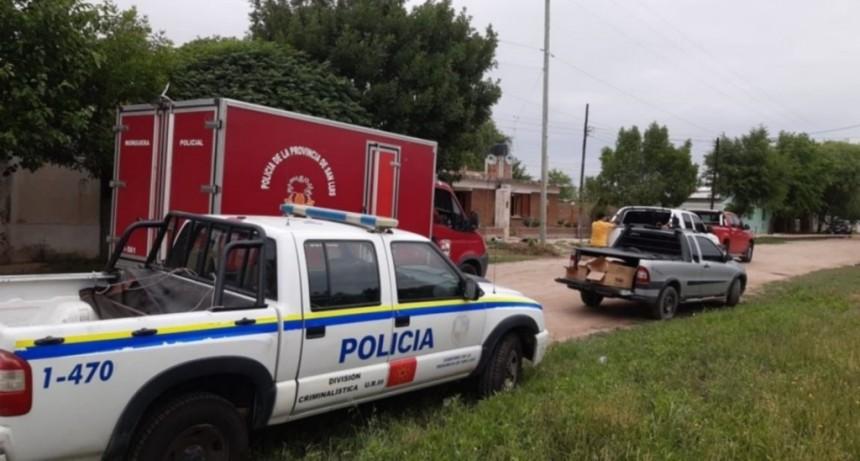 Santa Rosa del Conlara: encontraron muerto a un hombre de 92 años
