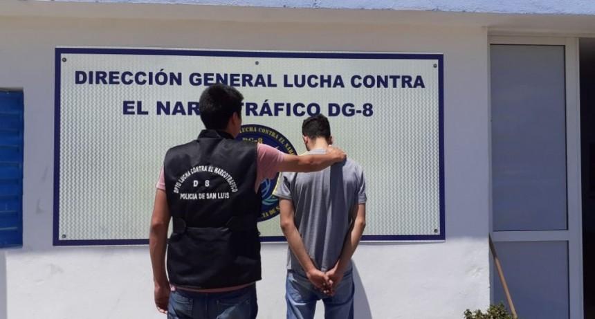 """San Luis: enviaron a prisión a un regenteador de """"kioscos"""" de droga"""