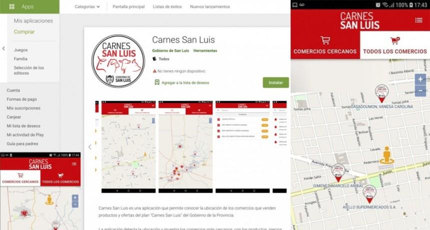 """""""Carnes San Luis"""": la nueva aplicación para conocer dónde comprar"""