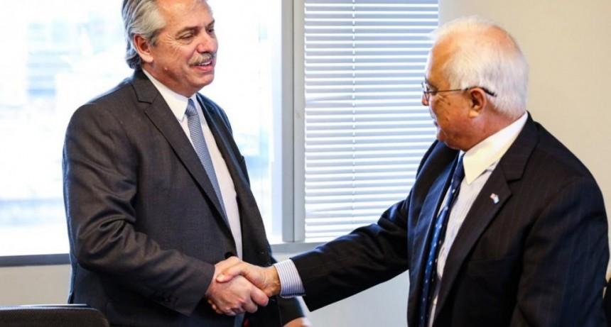 Alberto Fernández recibió al embajador de Estados Unidos