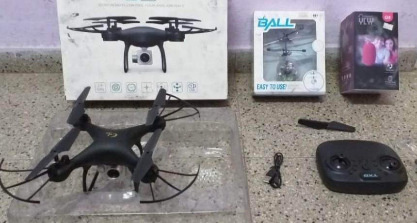 La Punta: policías recuperaron dos drones que habían sido robados de un comercio