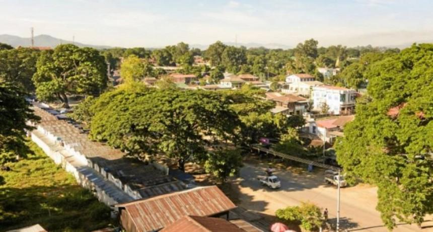 Myanmar: una argentina quedó herida por la explosión de una mina antipersona