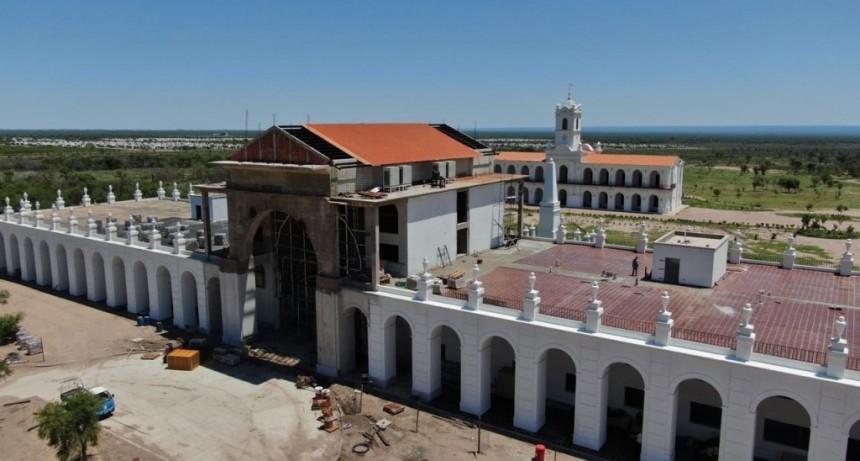 El hotel de La Recova, en La Punta, va tomando forma