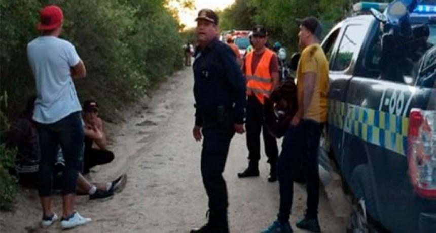 Merlo: una persecución terminó con dos policías accidentados
