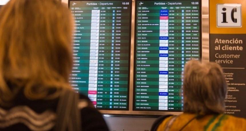 Por un paro nacional de ATE podría haber demoras en los vuelos este viernes