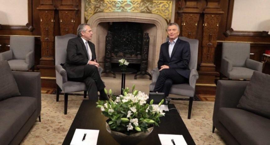 Alberto y Macri compartirán la misa por la