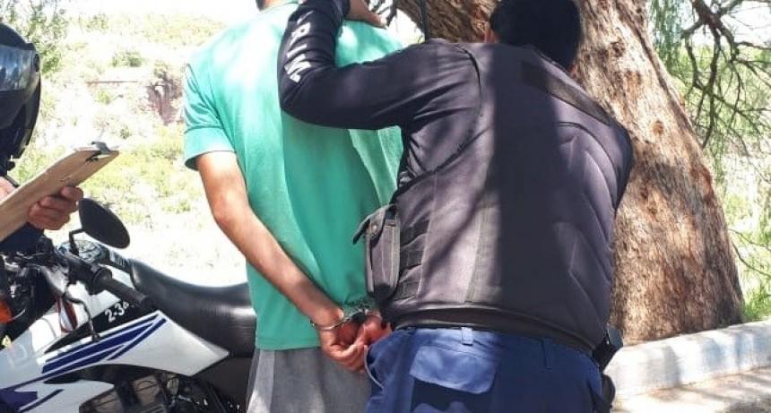 San Luis: detuvieron a un hombre que golpeó a su pareja