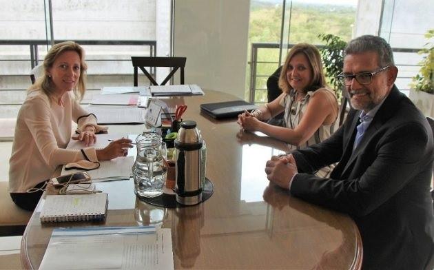 Sosa Araujo se reunió con la presidenta del Colegio de Farmacéuticos de San Luis