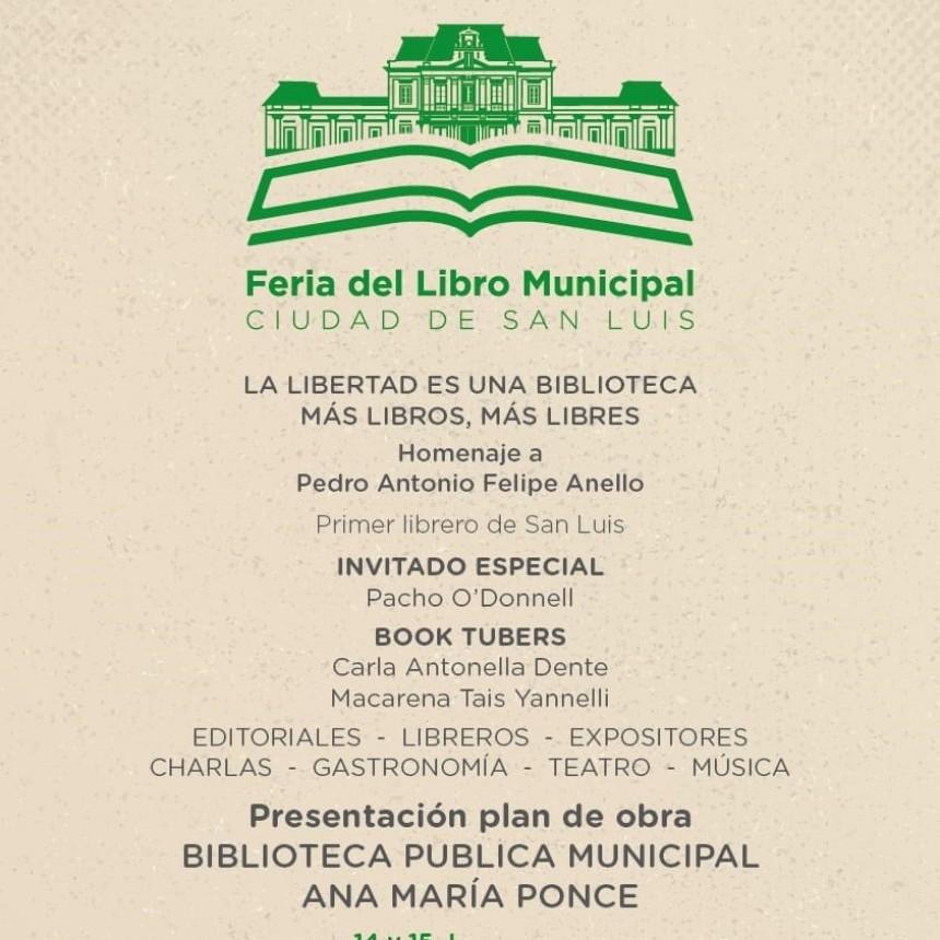 Este fin de semana realizan la Feria del Libro Municipal